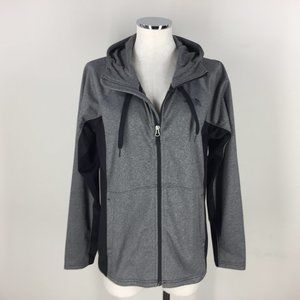 new The North Face Zip Up Hooded Jacket M Gray